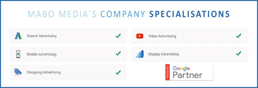 Mabo Media Google Partner Specialisations