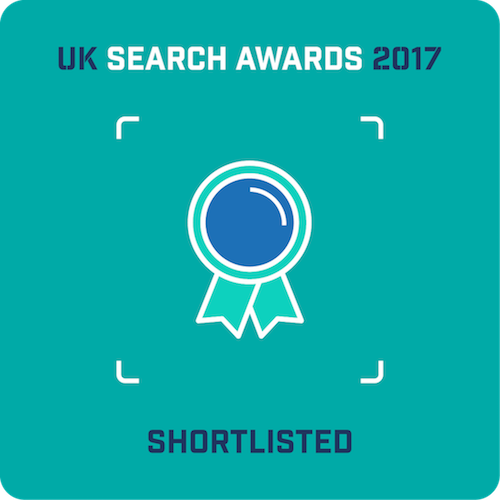 Mabo Media - nominated at the UK Search Awards