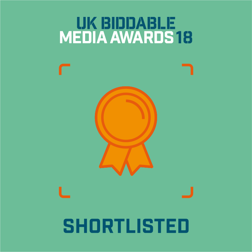 Mabo Media - nominated at the UK Biddable Media Awards 2018
