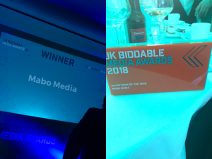 UK BIDDABLE MEDIA AWARDS WINNERS