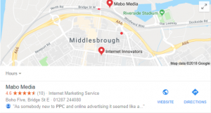 local search ads in adwords
