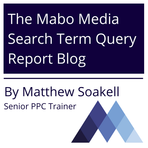 The Mabo Media Search Term Query Report Blog for June by Matthew Soakell