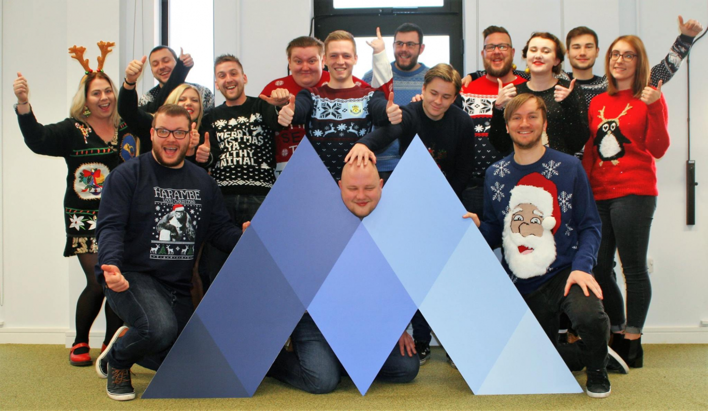 Mabo Media Christmas Jumper Day for Charity