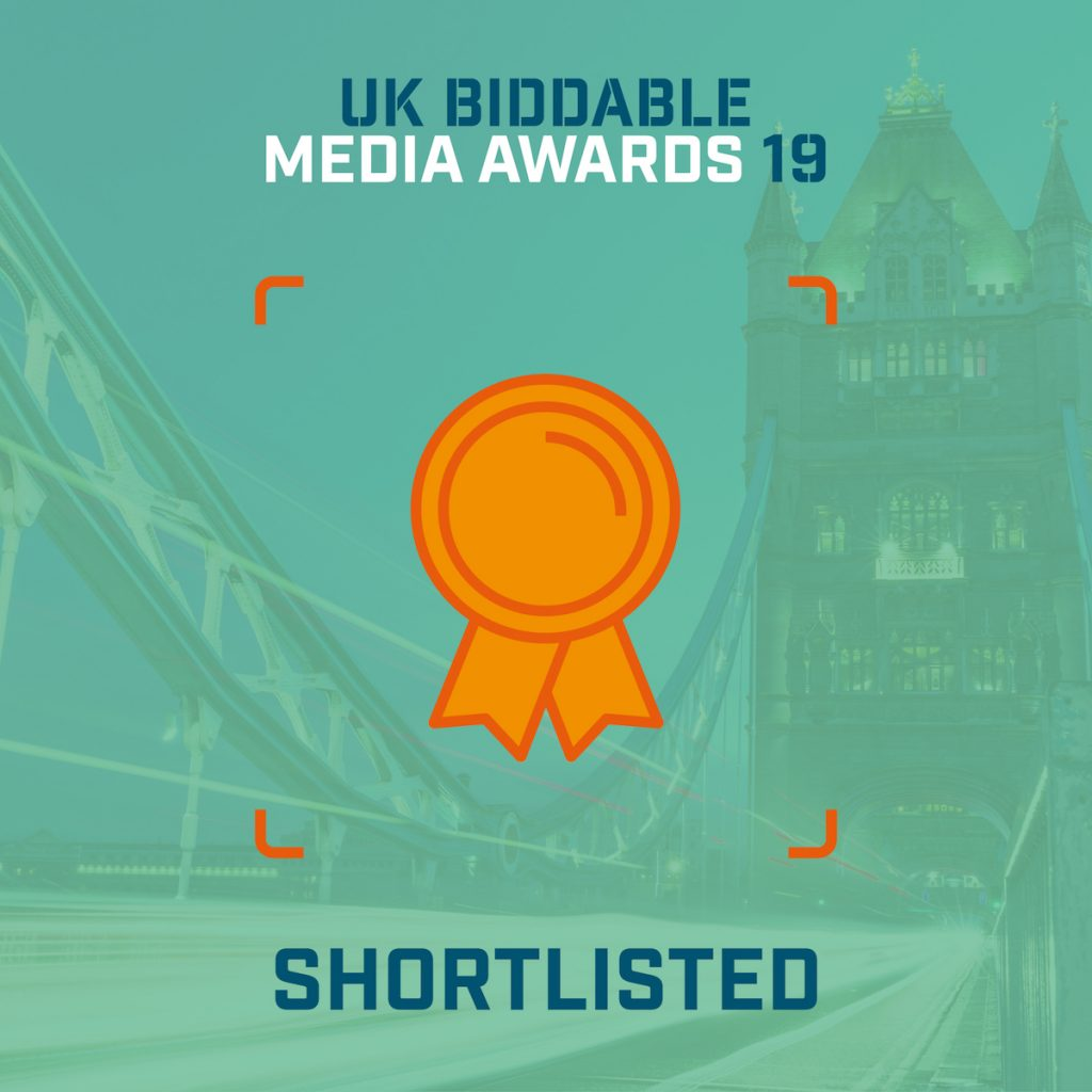 UK Biddable Media Awards 2019 Shortlist