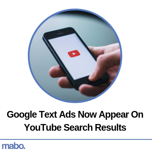 Google Text Ads Now Appear On YouTube Search Results