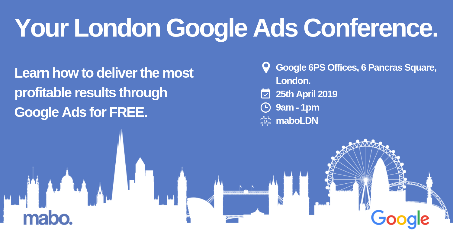 Your London Google Ads Conference LinkedIn Ad
