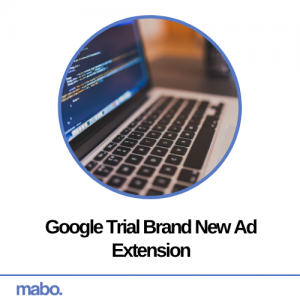 Google Trial Brand New Ad Extension