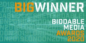 Biddable Media Awards Winner